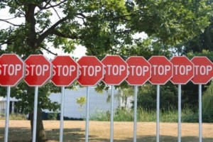 "There are many civil ways to say ""Stop."""