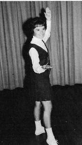 Ava Hovis Fryer-Arkansas City High School (Kansas) 1964-Rah Rah Rah!!!